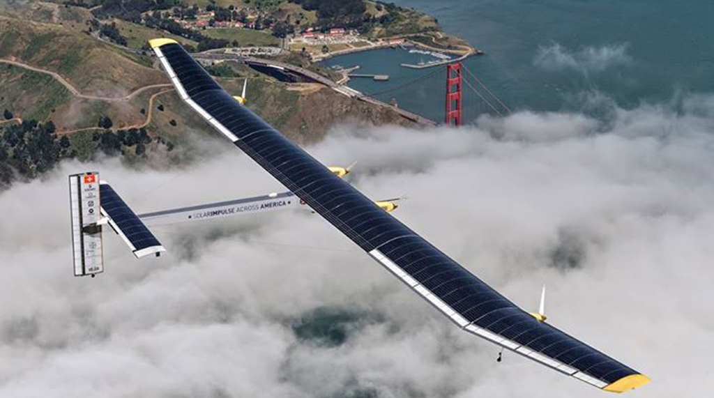 Solar Powered Aircraft Impulse