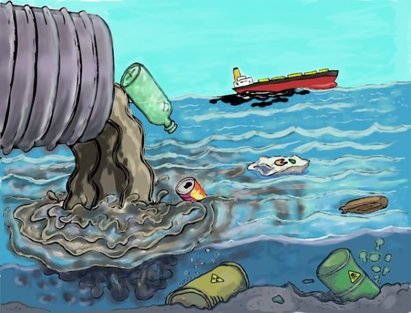 Ocean Pollution causes & controlling methods