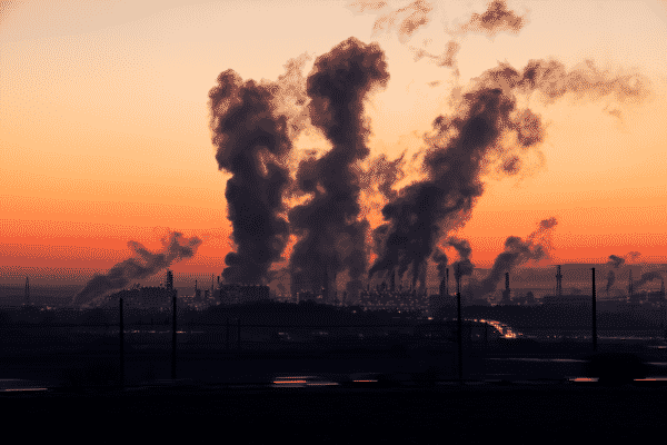 industrial pollution causes effects types control