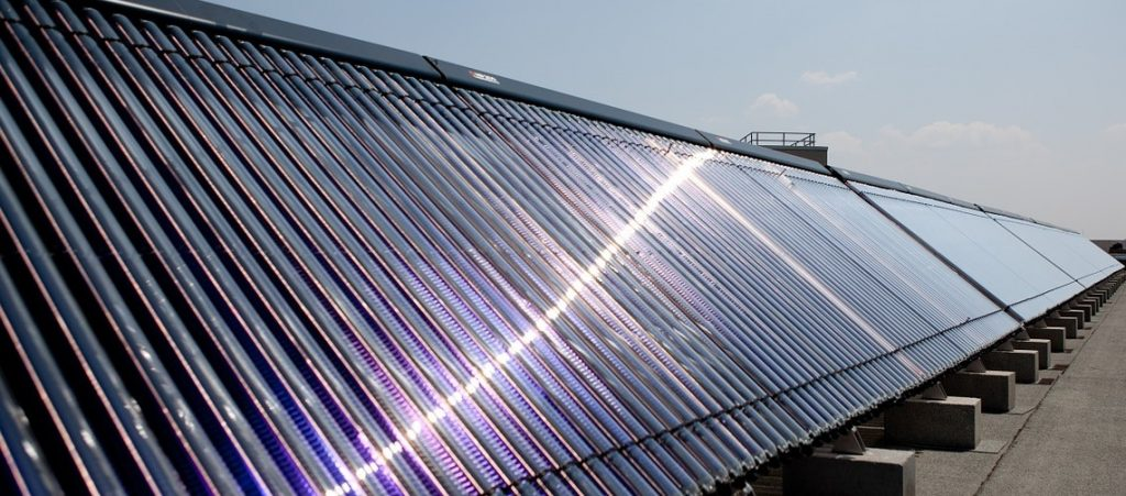 Solar Water heater picture